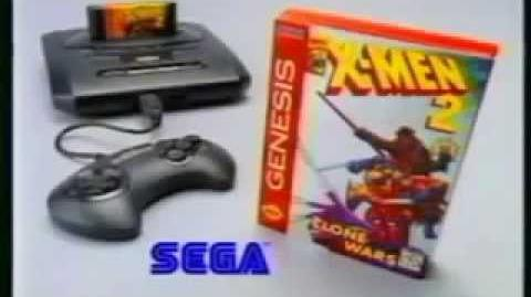 X-Men 2 Clone Wars TV Commercial - Sega Genesis TV Commercial (1995)