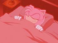 Amy Rose Sleeping