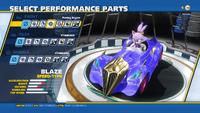 Blaze Purring Engine Front