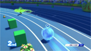 Mario & Sonic at the Rio 2016 Olympic Games - 4x100 Relay Sonic with dash