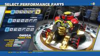 Omega Legendary Handling Sensor Front