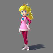 Peach Winter outfit - Rio2016