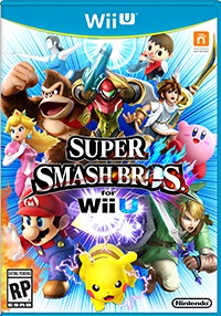 SSB4 Wii U Box Artwork