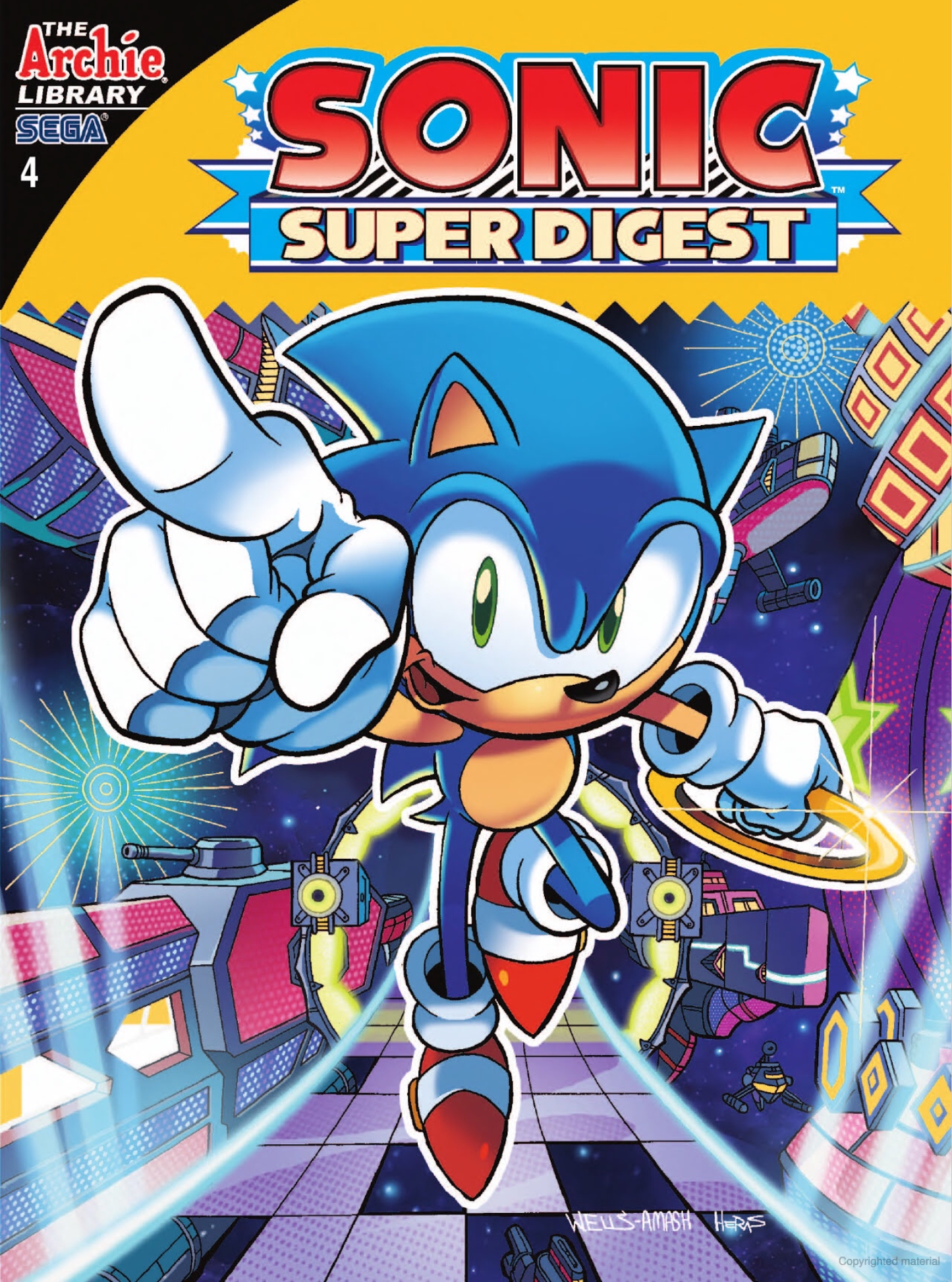 Archie Sonic Super Digest Issue 4 Sonic News Network