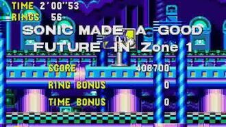 Sonic CD Stage 5 - Wacky Workbench Zone