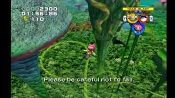 Sonic Heroes Frog Forest (Team Rose)