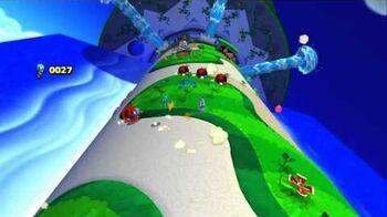 Sonic Lost World Wii U Playthrough - Tropical Coast Zone 1
