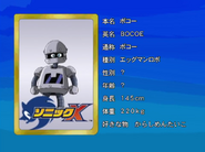 Sonic X karta 12