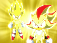 Super Sonic i Super Shadow ep 38