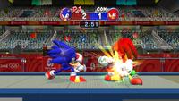 Fencing (Mario & Sonic 2008) Screenshot 1
