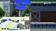 Rouge really is vandalist, if she leave those bombs on the route to blow cars