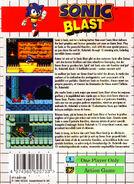 SonicBlast GG EU Box Back
