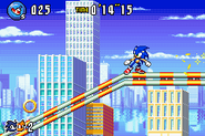 Sonic Advance 3 100