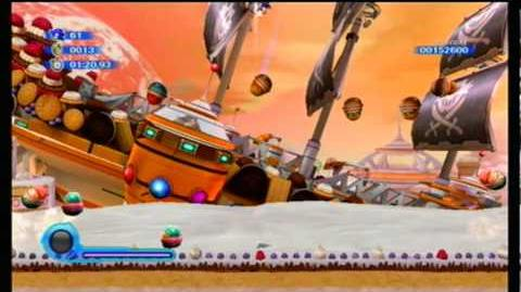 Sonic Colors - S Rank & Special Ring - (Boss) Sweet Mountain