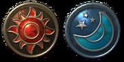 Sun Moon Medal