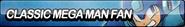 Classic mega man fan button by requestbuttons-d65g2ic