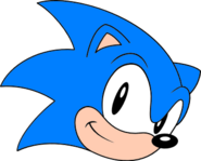 Classic sonic face