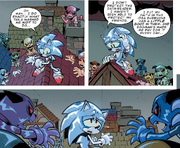 IDW 23 Sonic Metal Virus