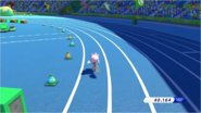 Mario & Sonic at the Rio 2016 Olympic Games - Amy 4x100m Relay
