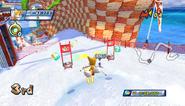 Mario Sonic Olympic Winter Games Gameplay 218