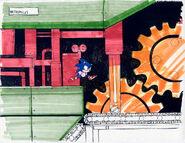 Sonic 2 level koncept 1