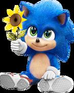 Sonic Film Sonic Artwork 6