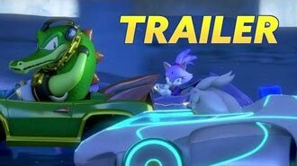 Team Sonic Racing Speed Up Trailer