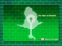 The Altar of Emerald map