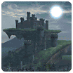 Battle Mode - Camelot Castle's rooftop garden