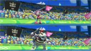 Mario & Sonic at the Rio 2016 Olympic Games - Amy VS Dry Bowser Javelin Throw