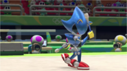 Mario & Sonic at the Rio 2016 Olympic Games - Metal Sonic Gymnastics