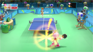 Mario & Sonic at the Rio 2016 Olympic Games - Table Tennis Amy with smash