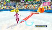 Mario Sonic Olympic Winter Games Gameplay 082