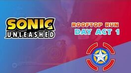 Rooftop Run Day Act 1 - Sonic Unleashed