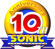 Sonic 10th logo