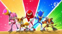 Sonic Boom charas