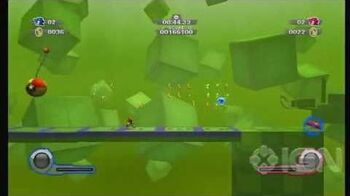 Sonic Colours - Multiplayer (Co-op) Game Land Zone