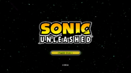 Sonic Unleashed (360 - PS3) Title Screen