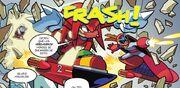 Knuckles y Proto Man