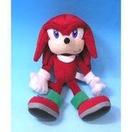 SegaToys SonicX PlushToy Knuckles
