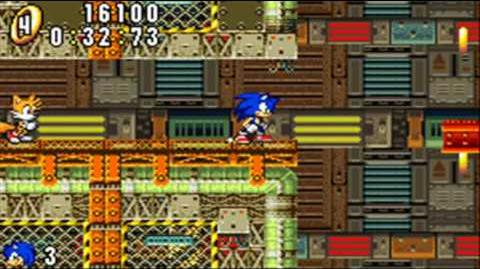 Sonic Advance - Secret Base Zone Act 1&2