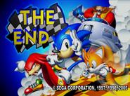 Sonic R ending