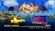 Sonic and Sega All Stars Racing character select 02