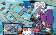 Espio i Sonic IDW 5