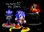 SCD MC Sonic (Sound Test)