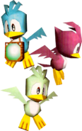 Sonic Adventure Birdies 3D