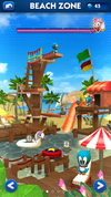 Sonic Dash Beach Zone restored