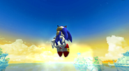 Sonic Dash amanhecendo