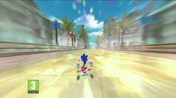 Sonic Free Riders TV Advert-0