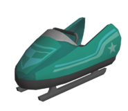 Sonic Unleashed PS3 Model Bobsled